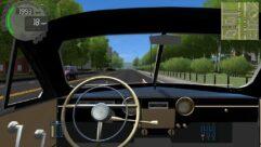 ГАЗ-12 (ZIM) Phaeton (1.5.9) - City Car Driving мод (изображение 6)