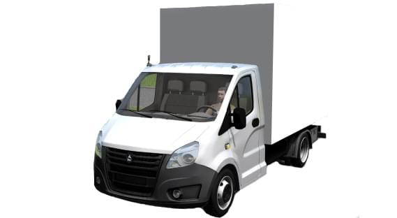 Gazel Next (1.5.9) - City Car Driving мод