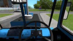 HTZ T-150K (1.5.9) - City Car Driving мод (изображение 4)