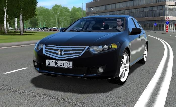 Honda Accord (1.5.9) - City Car Driving мод
