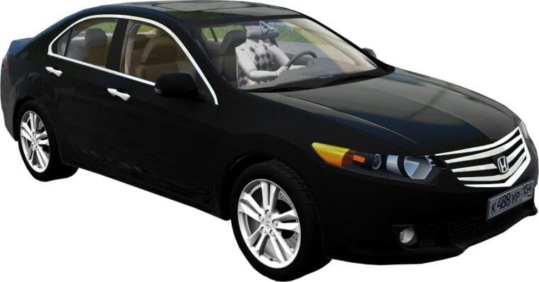 Honda Accord 2011 (1.5.9) - City Car Driving мод