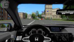 Honda Accord (1.5.9) - City Car Driving мод (изображение 5)