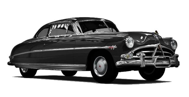 Hudson Hornet (1.5.9) - City Car Driving мод (изображение 10)
