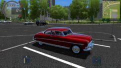 Hudson Hornet (1.5.9) - City Car Driving мод (изображение 2)