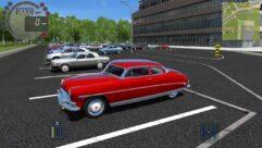 Hudson Hornet (1.5.9) - City Car Driving мод (изображение 4)