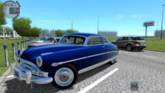 Hudson Hornet (1.5.9) - City Car Driving мод (изображение 5)