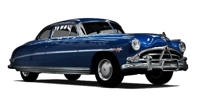Hudson Hornet (1.5.9) - City Car Driving мод (изображение 7)