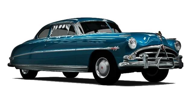 Hudson Hornet (1.5.9) - City Car Driving мод (изображение 8)