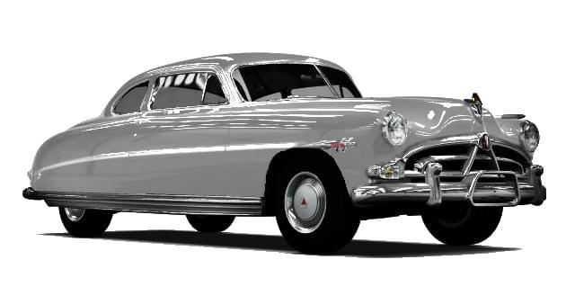 Hudson Hornet (1.5.9) - City Car Driving мод (изображение 9)
