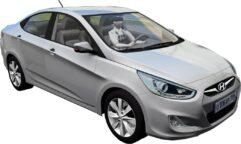 Hyundai Solaris 2011 (1.5.9) - City Car Driving мод