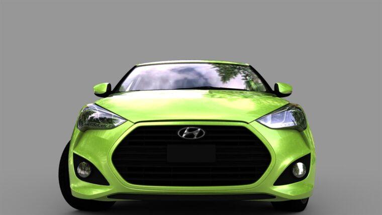 Hyundai Veloster (1.5.9) - City Car Driving мод