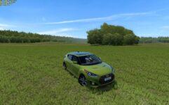 Hyundai Veloster (1.5.9) - City Car Driving мод (изображение 2)