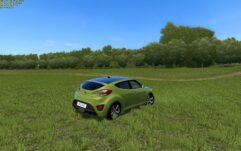 Hyundai Veloster (1.5.9) - City Car Driving мод (изображение 3)