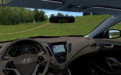 Hyundai Veloster (1.5.9) - City Car Driving мод (изображение 4)