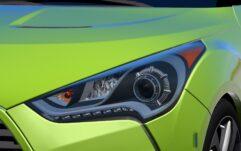 Hyundai Veloster (1.5.9) - City Car Driving мод (изображение 5)