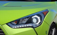 Hyundai Veloster (1.5.9) - City Car Driving мод (изображение 6)