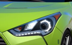 Hyundai Veloster (1.5.9) - City Car Driving мод (изображение 7)