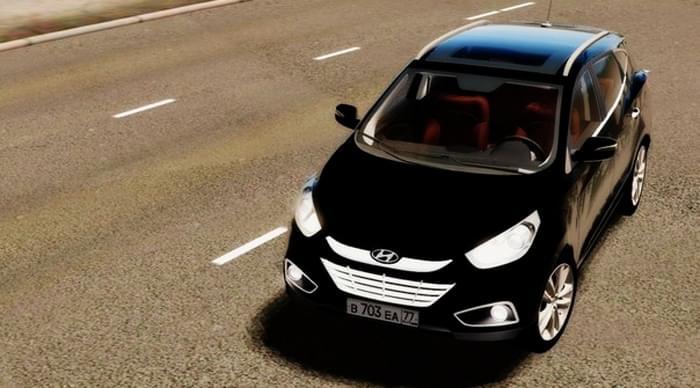 Hyundai ix35 2.0 D 4WD (1.5.9) - City Car Driving мод (изображение 2)