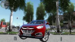 Hyundai ix35 2.0 D 4WD (1.5.9) - City Car Driving мод (изображение 4)