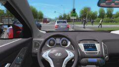 Hyundai ix35 2.0 D 4WD (1.5.9) - City Car Driving мод (изображение 7)