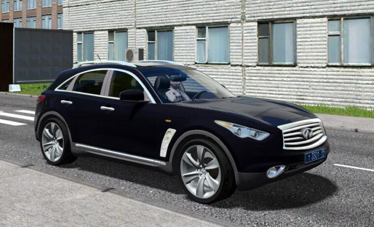 Infiniti FX50S (1.5.9) - City Car Driving мод