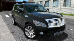 Infiniti QX56 (1.5.9) - City Car Driving мод