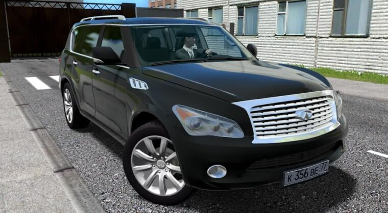 Infiniti QX56 (1.5.9) - City Car Driving мод