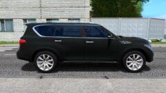 Infiniti QX56 (1.5.9) - City Car Driving мод (изображение 2)