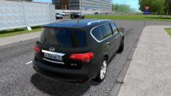 Infiniti QX56 (1.5.9) - City Car Driving мод (изображение 3)