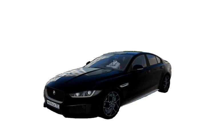 Jaguar XE 2015 (1.5.9) - City Car Driving мод