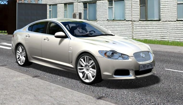 Jaguar XFR (1.5.9) - City Car Driving мод