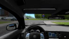 Jaguar XFR (1.5.9) - City Car Driving мод (изображение 4)