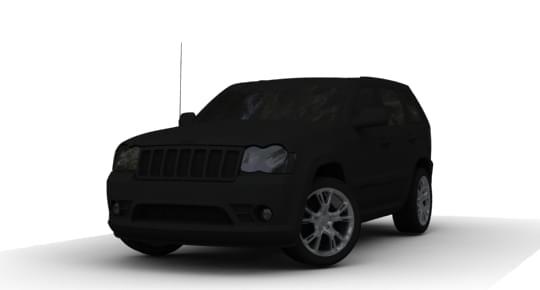 Jeep Grand Cherokee SRT8 WK (1.5.9) - City Car Driving мод
