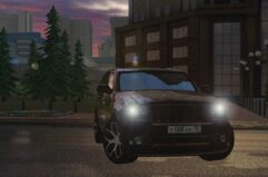 Jeep Grand Cherokee SRT8 WK (1.5.9) - City Car Driving мод (изображение 2)