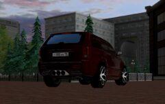 Jeep Grand Cherokee SRT8 WK (1.5.9) - City Car Driving мод (изображение 4)