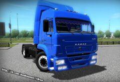 КамАЗ 5460 (1.5.9) - City Car Driving мод
