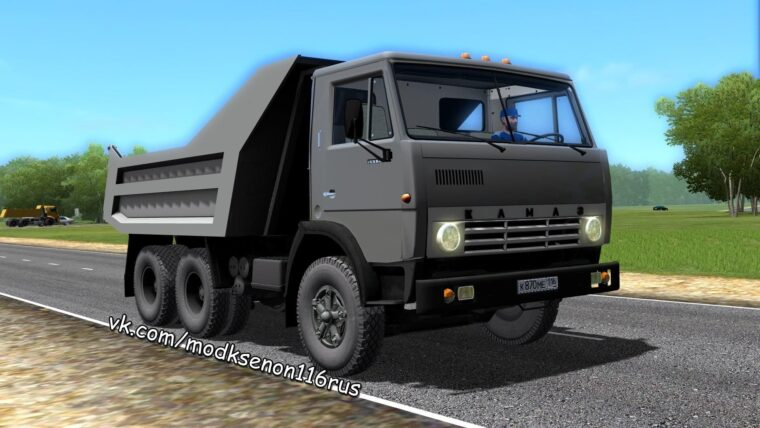 КамАЗ 5511 (1.5.9) - City Car Driving мод