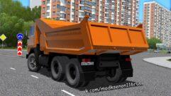 КамАЗ 5511 (1.5.9) - City Car Driving мод (изображение 3)