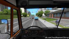 КамАЗ 5511 (1.5.9) - City Car Driving мод (изображение 4)