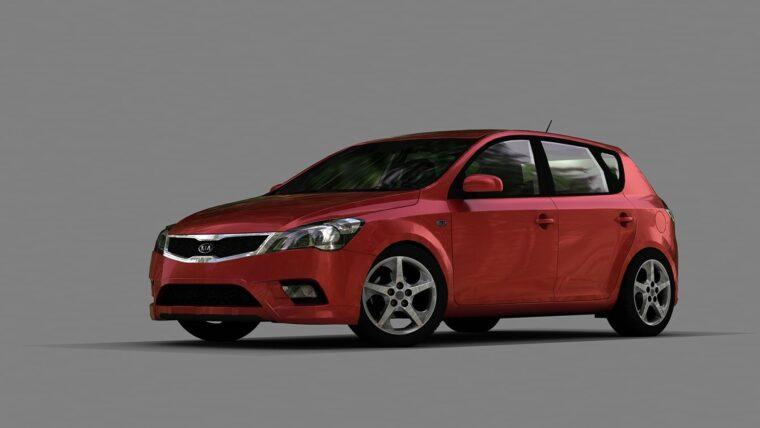 Kia Ceed 2011 (1.5.9) - City Car Driving мод
