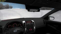 Kia Ceed 2011 (1.5.9) - City Car Driving мод (изображение 10)
