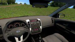 Kia Ceed 2011 (1.5.9) - City Car Driving мод (изображение 6)