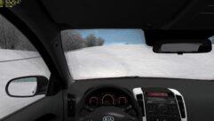 Kia Ceed 2011 (1.5.9) - City Car Driving мод (изображение 9)