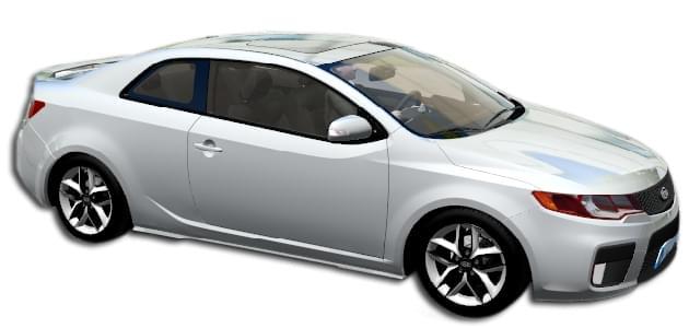 Kia Forte Koup (устаревшая версия) (1.5.9) - City Car Driving мод