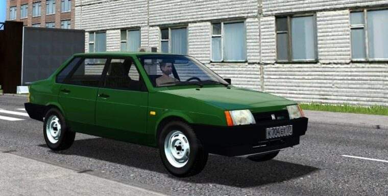 LADA 21099 (1.5.9) - City Car Driving мод