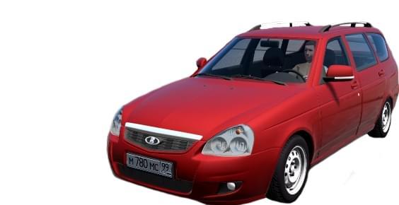 LADA 2171 (1.5.9) - City Car Driving мод