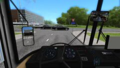 LAZ 695 (1.5.9) - City Car Driving мод (изображение 4)