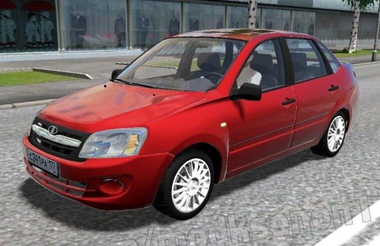 LADA Granta (1.5.9) - City Car Driving мод