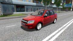 LADA Granta (1.5.9) - City Car Driving мод (изображение 2)
