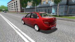 LADA Granta (1.5.9) - City Car Driving мод (изображение 3)